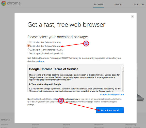 Install Google Chrome Browser Command | Server Labs ( Build Your