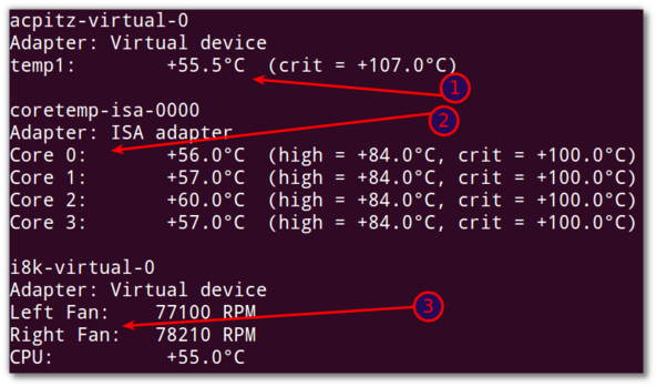 Linux: Dell Laptop Fan Control And Get CPU Temperature