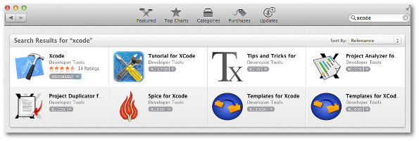 Fig.01: Make sure Xcode developer tools are install OS X