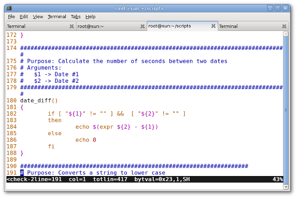 How To Show Line Numbers In vi / vim Text Editor