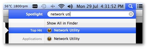 Fig.01: Finding network utility