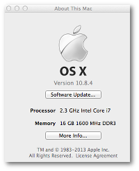 Fig.01 OS X version