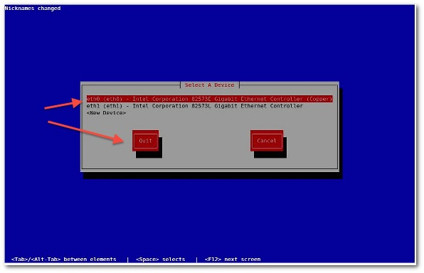 Fig.03: RHEL/CentOS command line network config tool (click to large)