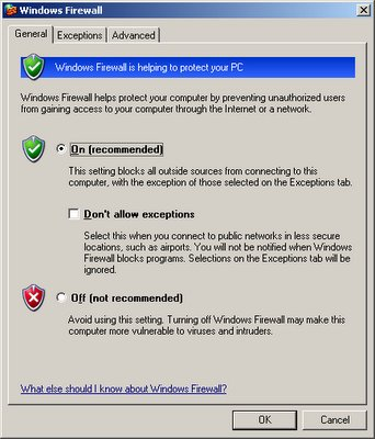 how to turn firewall off in ubuntu