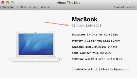 Can My Mac Run New Mountain Lion version 10.8?