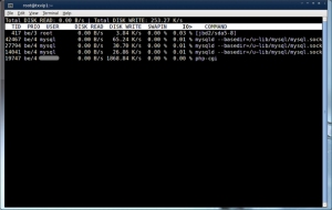 iotop: Linux Disk I/O Tools To See Process Eating Disk I/O