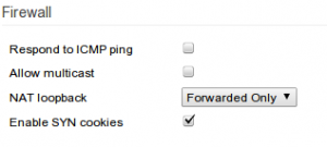 Fig.08: Firewall settings for br0