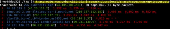 Fig.02: traceroute in action