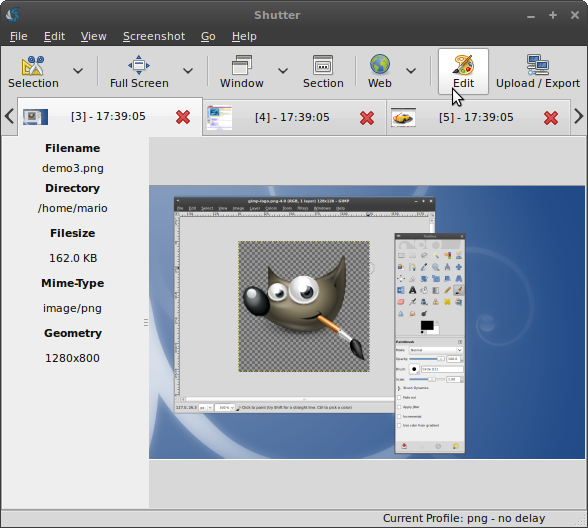 Shutter: The Ultimate Linux Screenshot Program