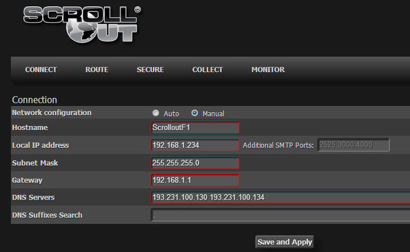 Scrollout F1 Email Gateway - Cool FOSS Software of 2013 - nixCraft