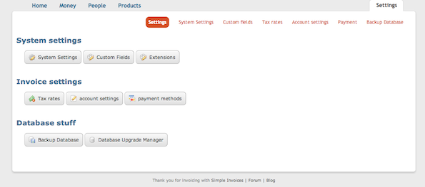 SimpleInvoices - Cool FOSS Software of 2013 - nixCraft