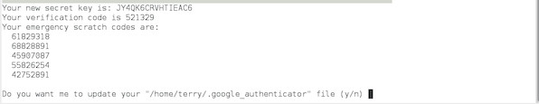 how to add github auth code to google authenticator