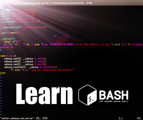 A list of online tutorials and resources to help you learn bash shell