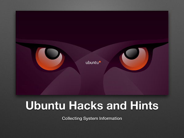 Ubuntu Linux Server Collecting System Information
