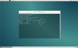Debian 8.3 Desktop (click to enlarge)