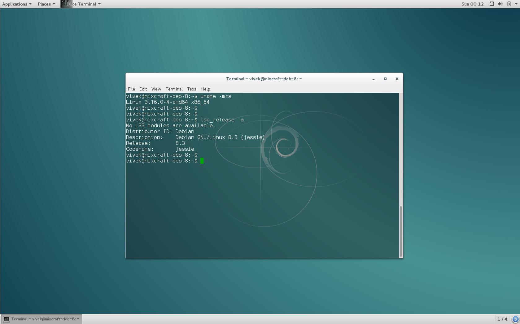 Debian Linux 8 3