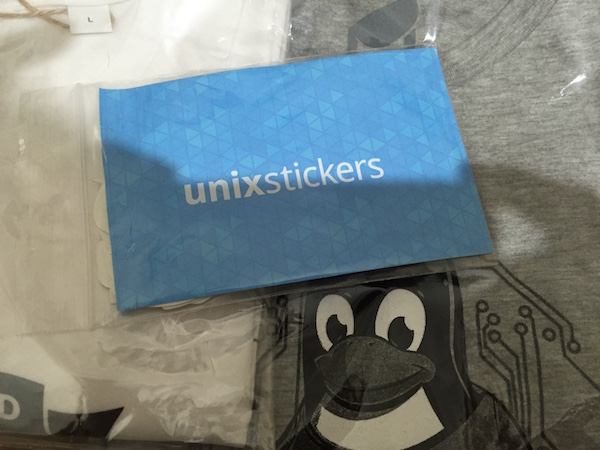 Swag from Unixstickers