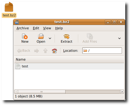 List The Contents Of a tar.bz2 Tarball File