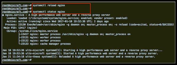 Linux Restart