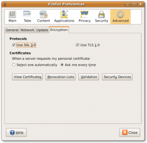 Fig.01: Firefox View Certificate