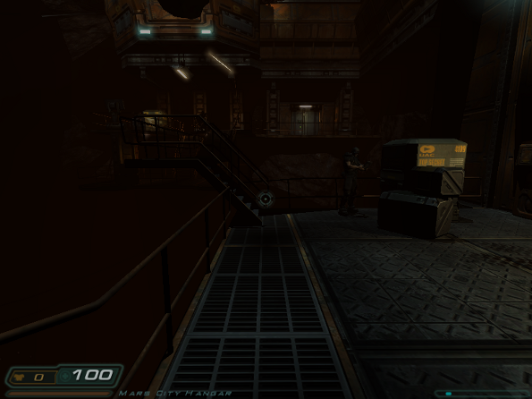 Fig.02: Linux Doom3 in Action