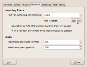 Fig.04: Transmission Ubuntu BT Client Connected To The Internet Via OS X Router