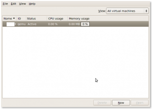 Fig.01: Creating A Virtualized Guest With virt-manager GUI Tool
