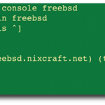 KVM Virsh: Redirect FreeBSD Console To A Serial Port