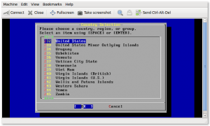 Fig.01: Creating guest with virt-install and installing guests with vnc