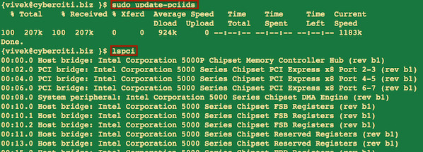 Linux: Find Wireless Driver Chipset Information