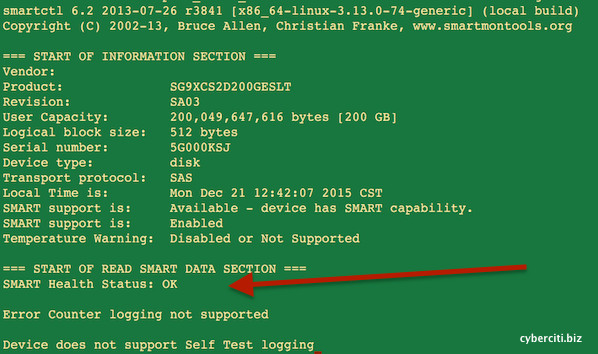 Fig.01: How To Check Hardware Raid Status in Linux Command Line