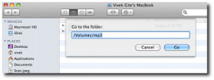 Mac OS X Finder For NFS Server