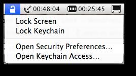 Fig.03: Locking the screen