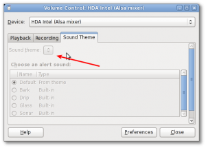 Gnome Volume Control: HDA Intel (Alsa mixer) Tab Is Greyed Out