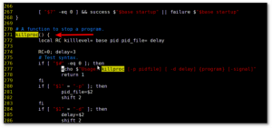 Vi / vim open a file at a specific function / subroutine / procedure / method in source code