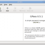 Fig.04: Gpass in action