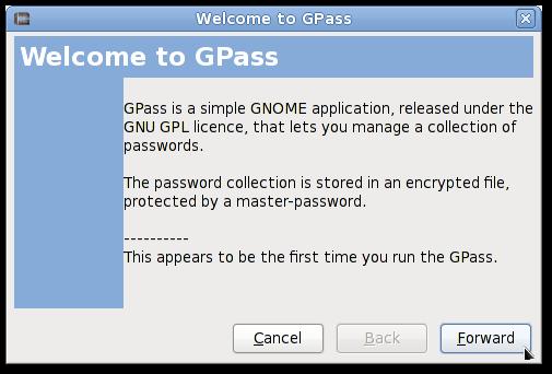 CentOS / RHEL: Install gpass Password Manager For GNOME2 Desktop