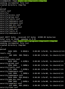 Copy Folder Linux Commands [ rsync ]