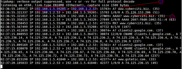 tcpdump: Monitor ALL eth1 Traffic Except My Own SSH Session