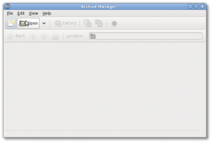 Linux / Unix GUI Open a .tar.gz With Archive Manager