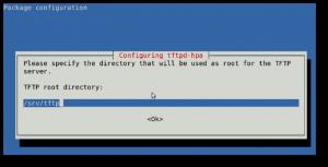 Fig.01: Installing and Setting TFTPD Server In Ubuntu / Debian System