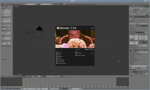 Blender in action