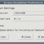 How do I find out screen resolution of my Linux desktop?