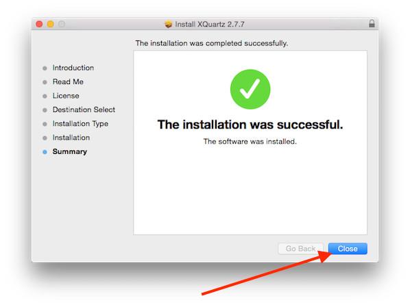 install x11 mac os x