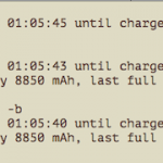 Linux: Check Battery Status Command