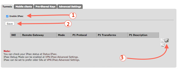 Fig.04: Enable PFSense