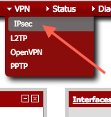 Fig.03: PFSense configure the vpn