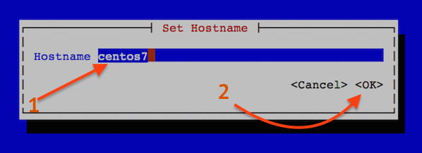 Fig.02: Set hostname