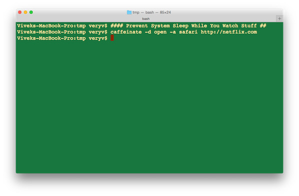 how to open a terminal prompt on mac