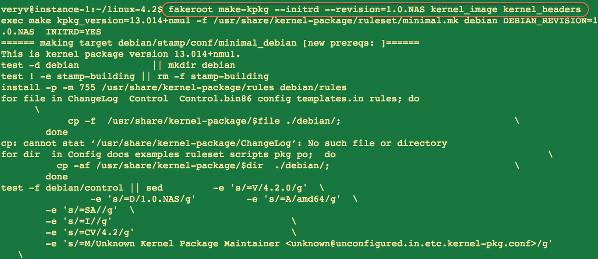 Fig.07: Start compiling the kernel